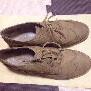フォーエバートゥエンティーワン(FOREVER 21)のカチッとフラットシューズ?(ローファー/革靴)