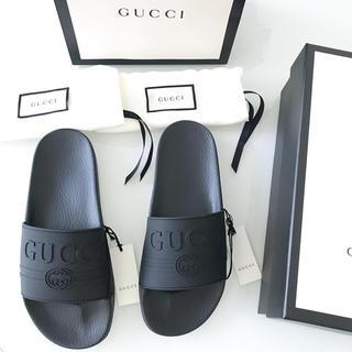 e400080f8baf グッチ ロゴ サンダル(メンズ)の通販 16点 | Gucciのメンズを買うならラクマ