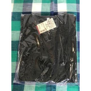 ムジルシリョウヒン(MUJI (無印良品))の新品 無印 オーガニックコットン 授乳に便利なTシャツ 黒(マタニティトップス)