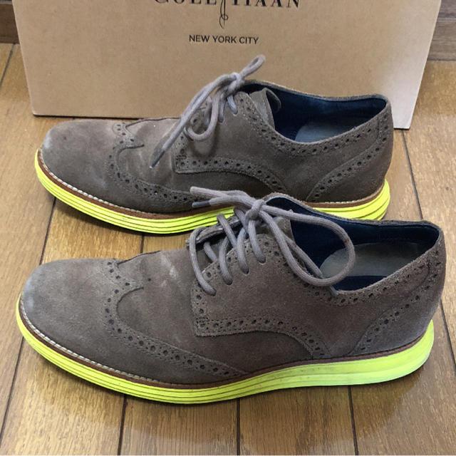 Cole Haan(コールハーン)のCOLE HAAN ウィングチップのシューズ メンズの靴/シューズ(ドレス/ビジネス)の商品写真
