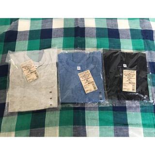 ムジルシリョウヒン(MUJI (無印良品))の新品 無印良品 ベビー90 オーガニックコットン タンクトップ 3枚セット(Tシャツ/カットソー)
