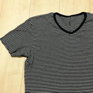 ダブルジェーケー(wjk)のwjkダブル・ジェイ・ケイ/ボーダーTシャツ(Tシャツ/カットソー(半袖/袖なし))