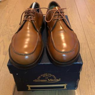 シルバノマッツァ(SILVANO MAZZA)のシルバノマッツァ Uチップシューズ ブラウン(ローファー/革靴)