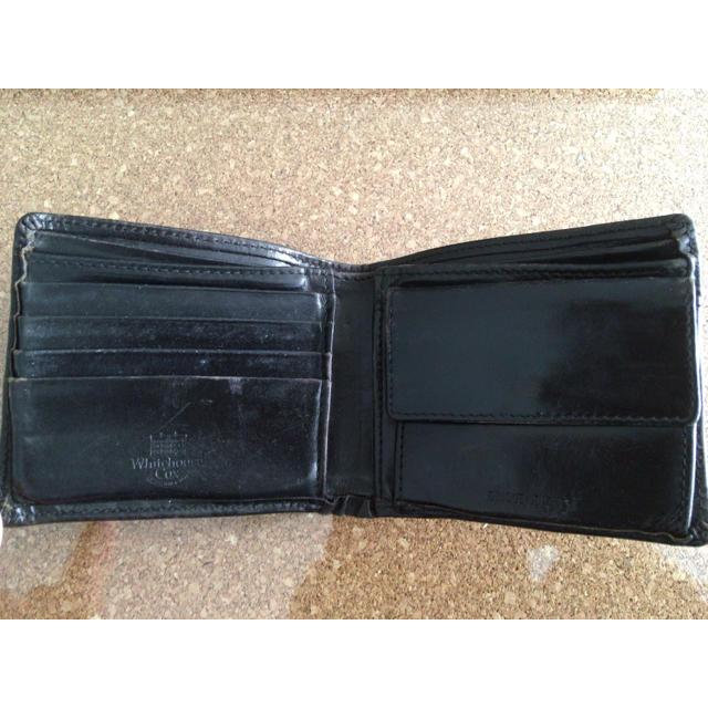 ebe9e52682f6 WHITEHOUSE COX(ホワイトハウスコックス)のホワイトハウスコックスwhitehouse cox 2つ折財布