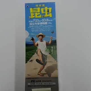 特別展 昆虫【国立科学博物館】1枚(美術館/博物館)