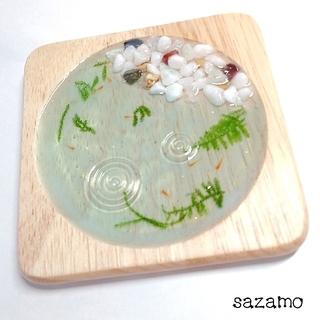 めだか睡蓮鉢のアクセサリートレイ メダカ(雑貨)