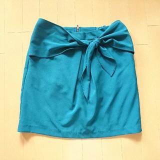 ローリーズファーム(LOWRYS FARM)のタイトリボンスカート(ミニスカート)