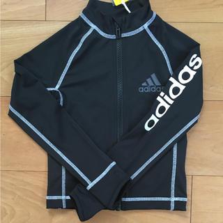 アディダス(adidas)の新品 アディダス ラッシュガード フルジップ 120(水着)