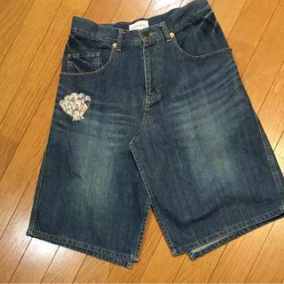 ツモリチサト(TSUMORI CHISATO)のツモリチサト  パッチワークデニムスカート(ひざ丈スカート)