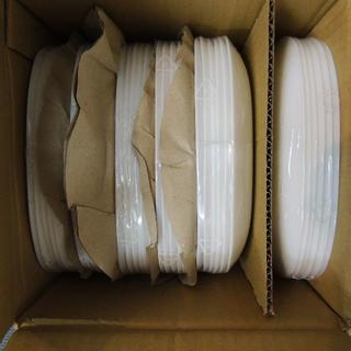 ヤマザキセイパン(山崎製パン)の新品未使用 ヤマザキ春のパンまつり お皿 白 フランス 強化ガラス 36枚(食器)