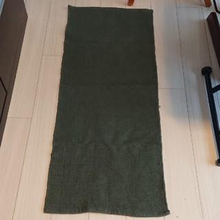 ムジルシリョウヒン(MUJI (無印良品))の◆新品未使用◆無印良品 キッチンマット50×124cm グリーン (キッチンマット)