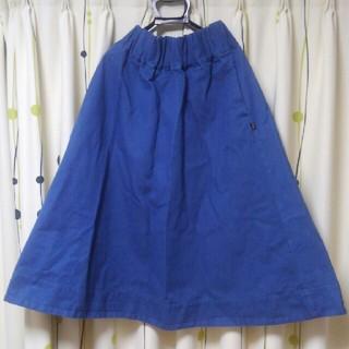 アイロニー(IRONY)のまりものん様専用ギャザーミモレスカート【デニムスカート】【IRONY】(ロングスカート)