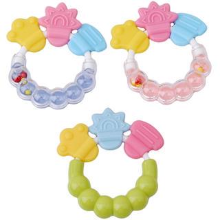 はがため 歯固め 赤ちゃんおもちゃ 新品(がらがら/ラトル)