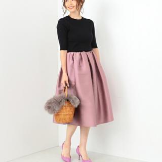 デミルクスビームス(Demi-Luxe BEAMS)のお値下げ❣️Demi-Luxe BEAMS スカート(ひざ丈スカート)