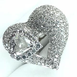 1449 ダイヤモンド 一粒ダイヤ2.004ct メレダイヤ3.50ct リング(リング(指輪))