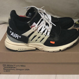 オフホワイト(OFF-WHITE)のNike x Off White Air Presto US8/26cm(スニーカー)