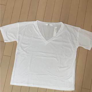 アズール(AZZURE)のアズールのシンプルな無地のTシャツ(Tシャツ(半袖/袖なし))