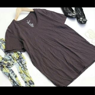 ムジルシリョウヒン(MUJI (無印良品))の無印良品 MUJI Tシャツ 半袖 良品計画 XL 綿 コットン 1218112(Tシャツ(半袖/袖なし))