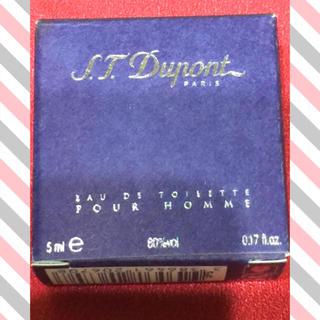 未使用☆S.T.Dupont☆プールオムオードトワレ