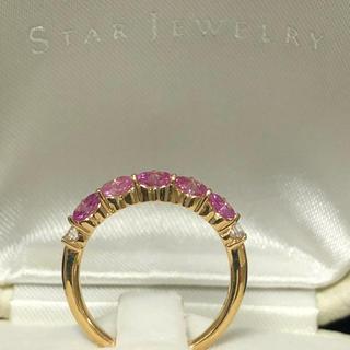 スタージュエリー(STAR JEWELRY)のセラム様専用 スタージュエリー ハートサファイア リング (リング(指輪))