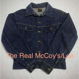 ザリアルマッコイズ(THE REAL McCOY'S)のThe Real McCoy's/Lee Riders 101J 復刻最初期(Gジャン/デニムジャケット)