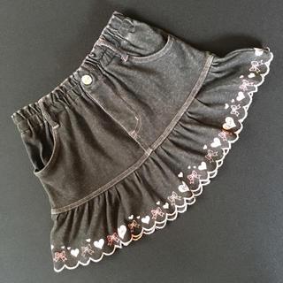 ハートリボンプリント スカート(スカート)
