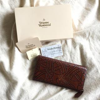 ヴィヴィアンウエストウッド(Vivienne Westwood)のヴィヴィアンウエストウッドの長財布 レザー パース(財布)