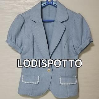 ロディスポット(LODISPOTTO)の半袖ジャケット🌼ロディスポット(テーラードジャケット)