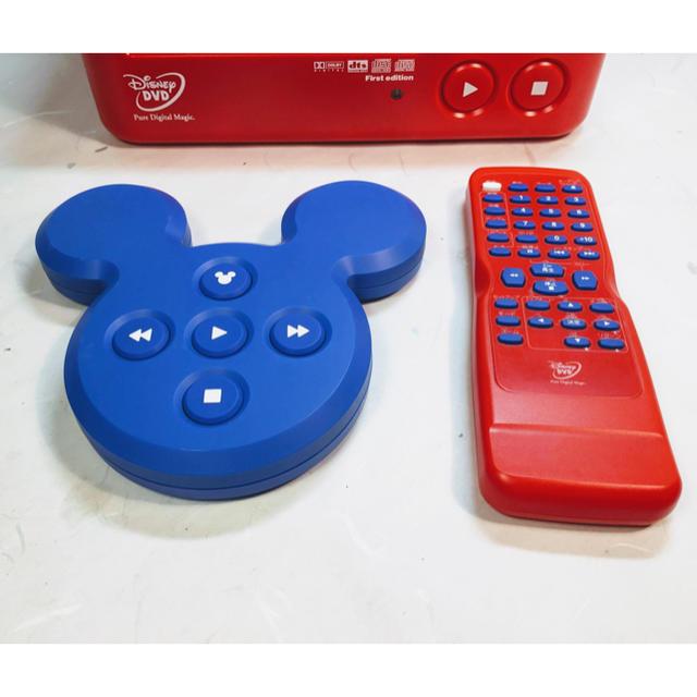 Disney(ディズニー)の美品 送料込♪ Disney ミッキーマウス DVDプレイヤー BVHE-SN1 スマホ/家電/カメラのテレビ/映像機器(DVDプレーヤー)の商品写真
