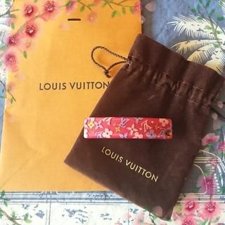 ルイヴィトン(LOUIS VUITTON)のルイヴィトン♡バレッタ🌺新品🌼正規品✨(バレッタ/ヘアクリップ)