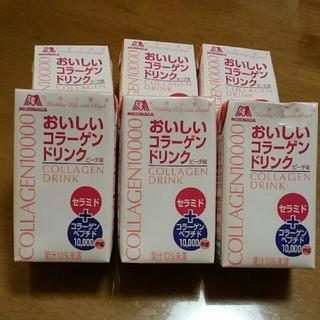 モリナガセイカ(森永製菓)の森永製菓 天使の健康 おいしいコラーゲンドリンク ピーチ味 6個セット(コラーゲン)