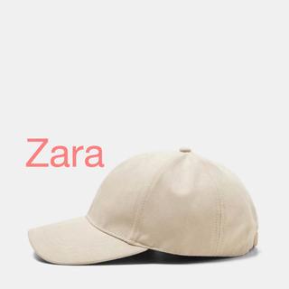 ザラ(ZARA)のZara スエード テイスト キャップ 新品♡(キャップ)