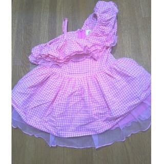 コットンベビー(COTTON BABY)のcotton baby♡韓国子供服♡ジュリアワンピ♡S100センチ♡誕生日会♡(ワンピース)