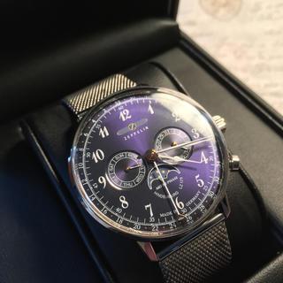 ツェッペリン(ZEPPELIN)の保証残有り ツェッペリン ムーンフェイズ クロノグラフ 腕時計 ZEPPELIN(腕時計(アナログ))