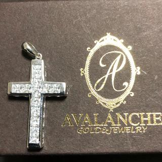 アヴァランチ(AVALANCHE)のアバランチ クロス 10k WG 即完売レア(ネックレス)