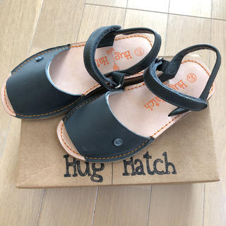 キャラメルベビー&チャイルド(Caramel baby&child )のスペイン hug and hatch サンダル 19cm 日本未入荷(サンダル)