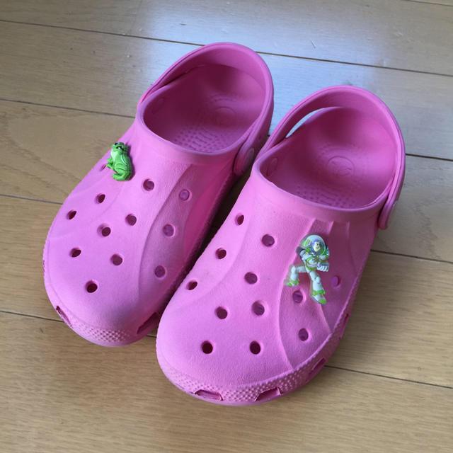 crocs - Crocs クロックス サンダル C12/13 の