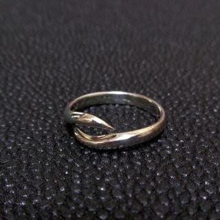 076 SILVER925 シンプルリング13号 プレーン ゴシック サーフ(リング(指輪))