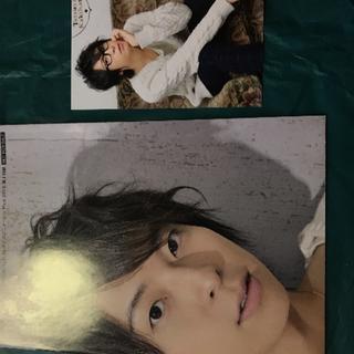 声優 柿原徹也 さん ポスター ポストカード(切り抜き)