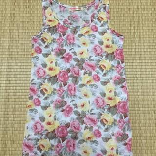 ローズファンファン(ROSE FANFAN)の⭐️ローズファンファンの可愛い花柄タンクトップ★  (タンクトップ)