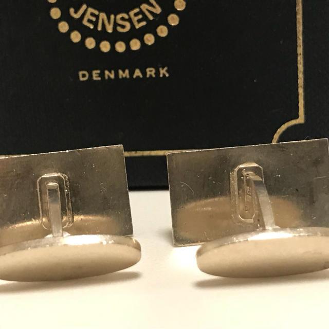 Georg Jensen(ジョージジェンセン)のジョージジェンセン カフス カフリンクス 925 メンズのファッション小物(カフリンクス)の商品写真