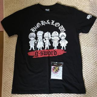 シマムラ(しまむら)のHiGH&LOW   しまむらコラボTシャツ  L  黒(Tシャツ/カットソー(半袖/袖なし))