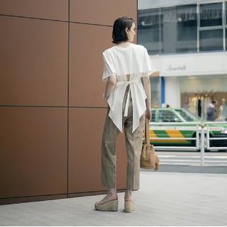 アメリヴィンテージ(Ameri VINTAGE)のアメリ ヴィンテージ フィッシュテールティーシャツ(Tシャツ(半袖/袖なし))
