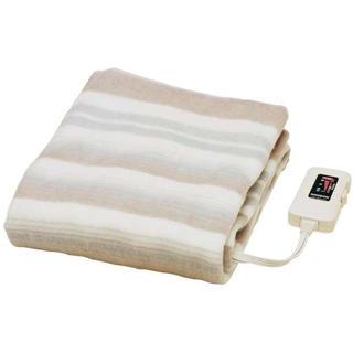 【水洗いOK】日本製 電気敷き毛布