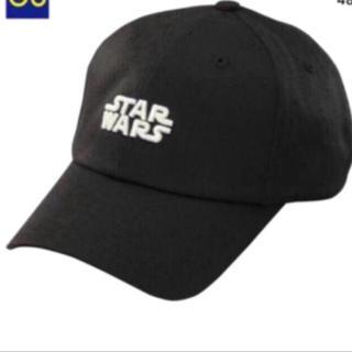 ジーユー(GU)の新品 GU スターウォーズ 帽子 スターウォーズ キャップ ブラック(キャップ)