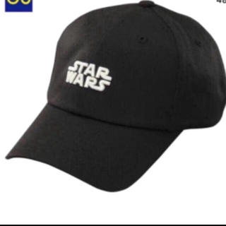 ジーユー(GU)の新品 GU スターウォーズ キャップ スターウォーズ 帽子 ブラック(キャップ)