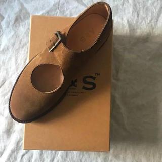 マーガレットハウエル(MARGARET HOWELL)の【新品】ARTS&SIENCE レザーシューズ 24.5(ローファー/革靴)