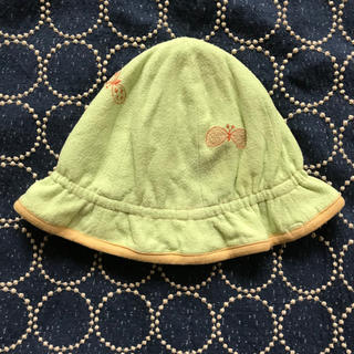 ミナペルホネン(mina perhonen)のミナペルホネン  キッズ ベビー choucho 帽子 暑さ対策に(帽子)