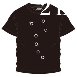 北斗の拳 Tシャツ メンズ2L 大きいサイズ 北斗七星 ケンシロウ Tシャツ 黒