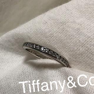 ティファニー(Tiffany & Co.)のティファニー ハーフエタニティ リング (リング(指輪))